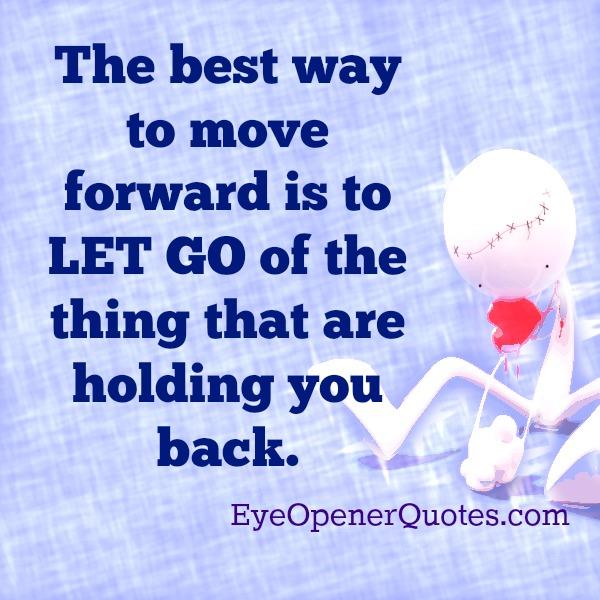 The Best way to move forward in life
