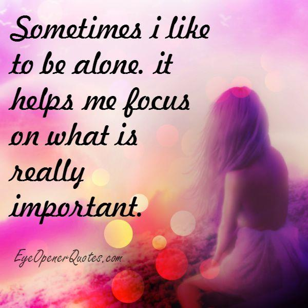 How to focus on what's really important?