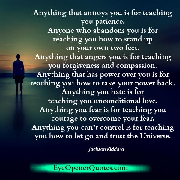 Anything that angers you in life